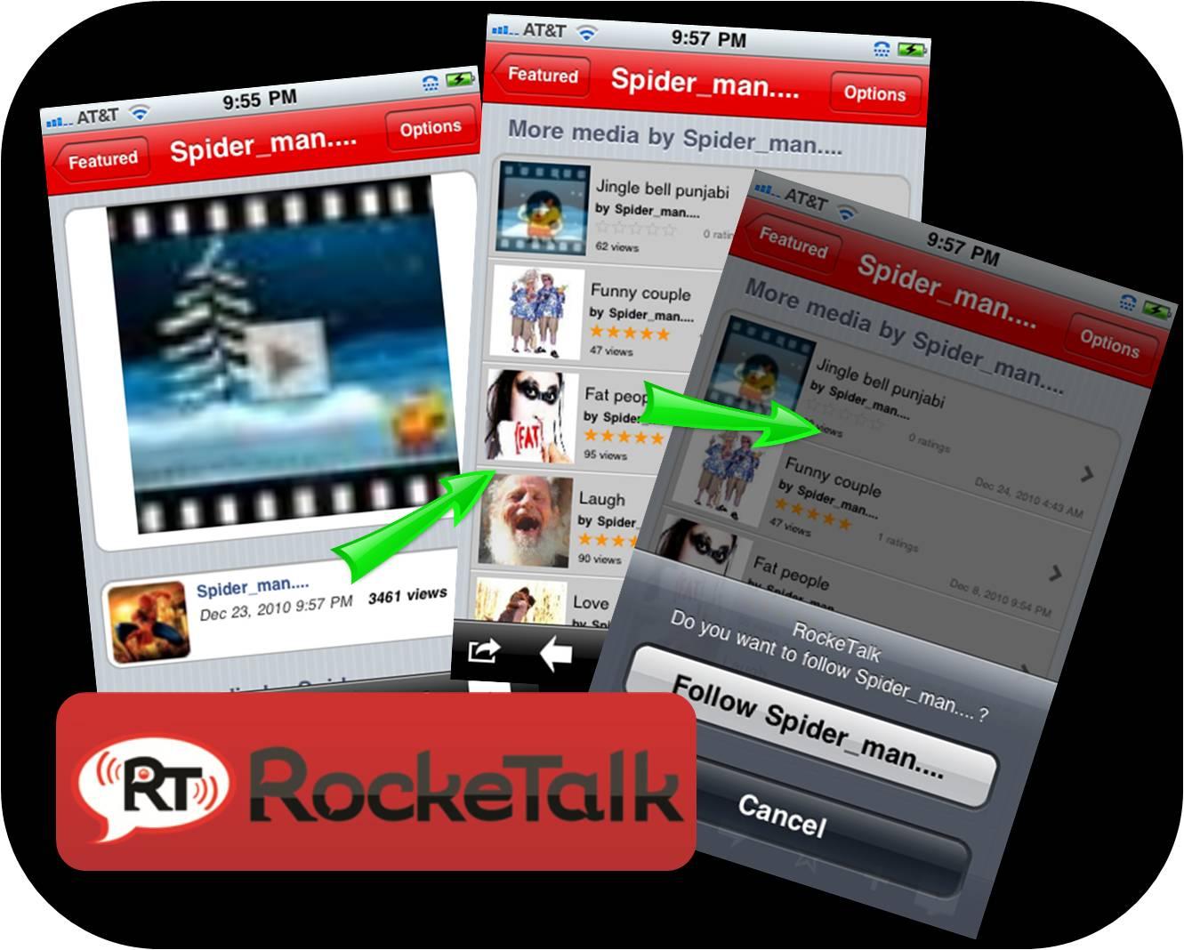 rocketalk for n72
